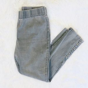 Soft Surroundings Gray Pull On Pants